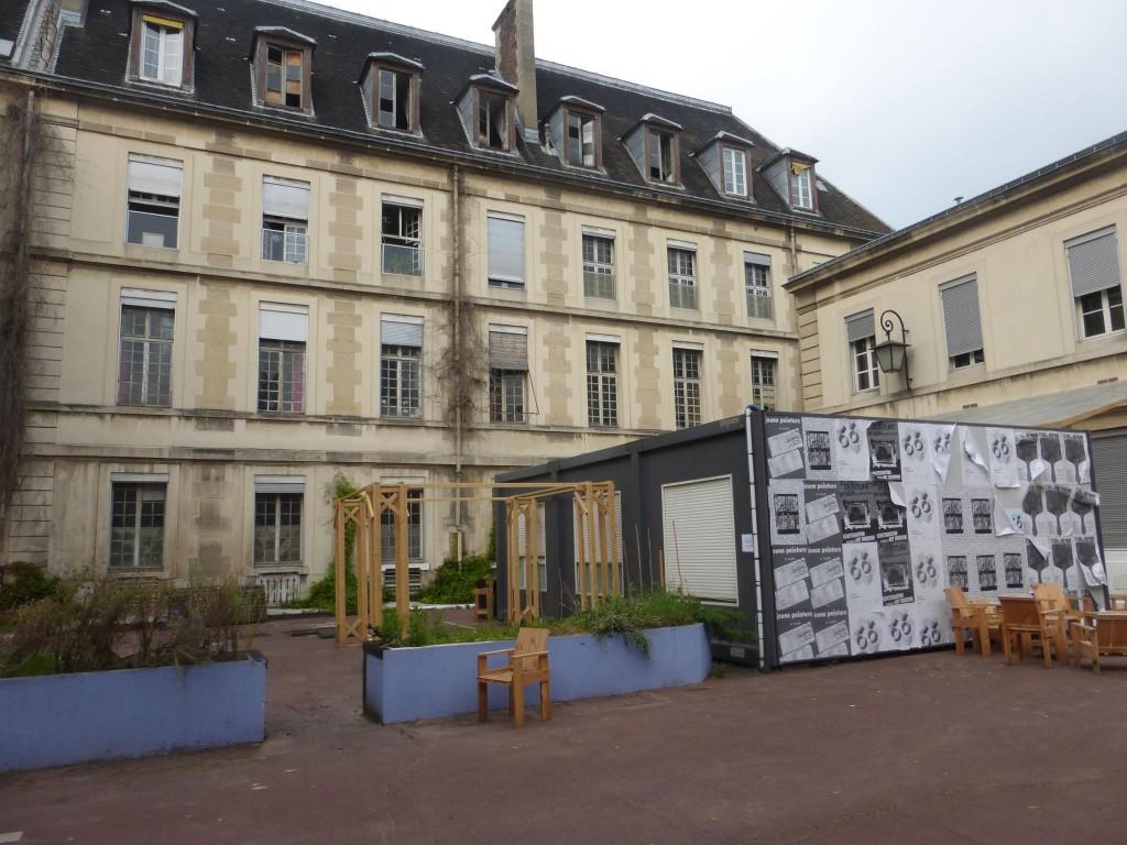 Le site de l'hôpital Saint-Vincent-de-Paul (14e)